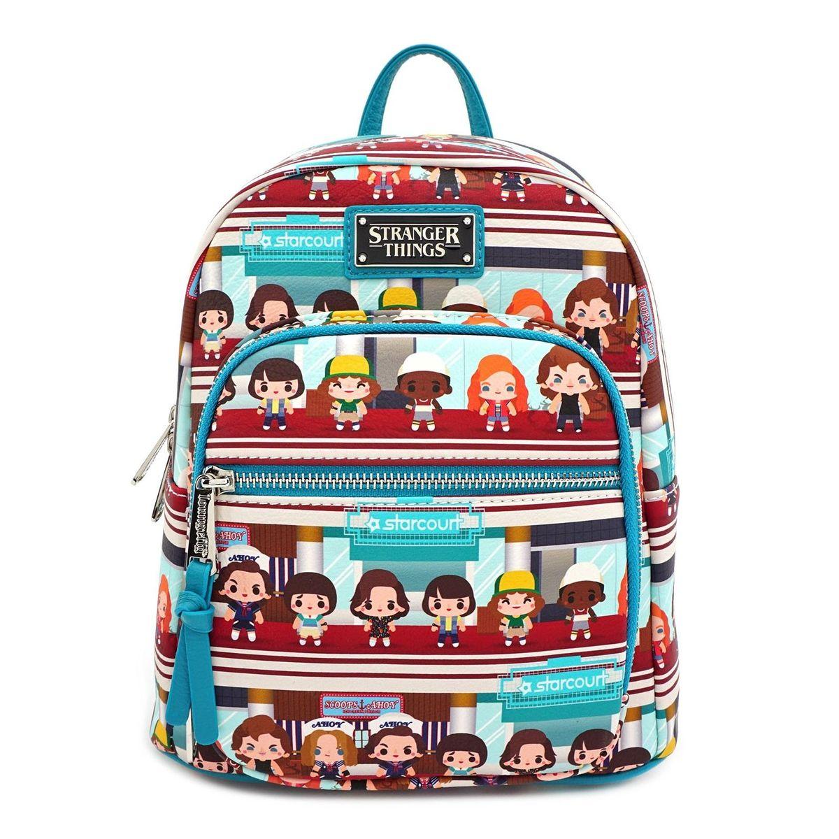 Loungefly Netflix Stranger Things Starcourt Chibi Mini Backpack