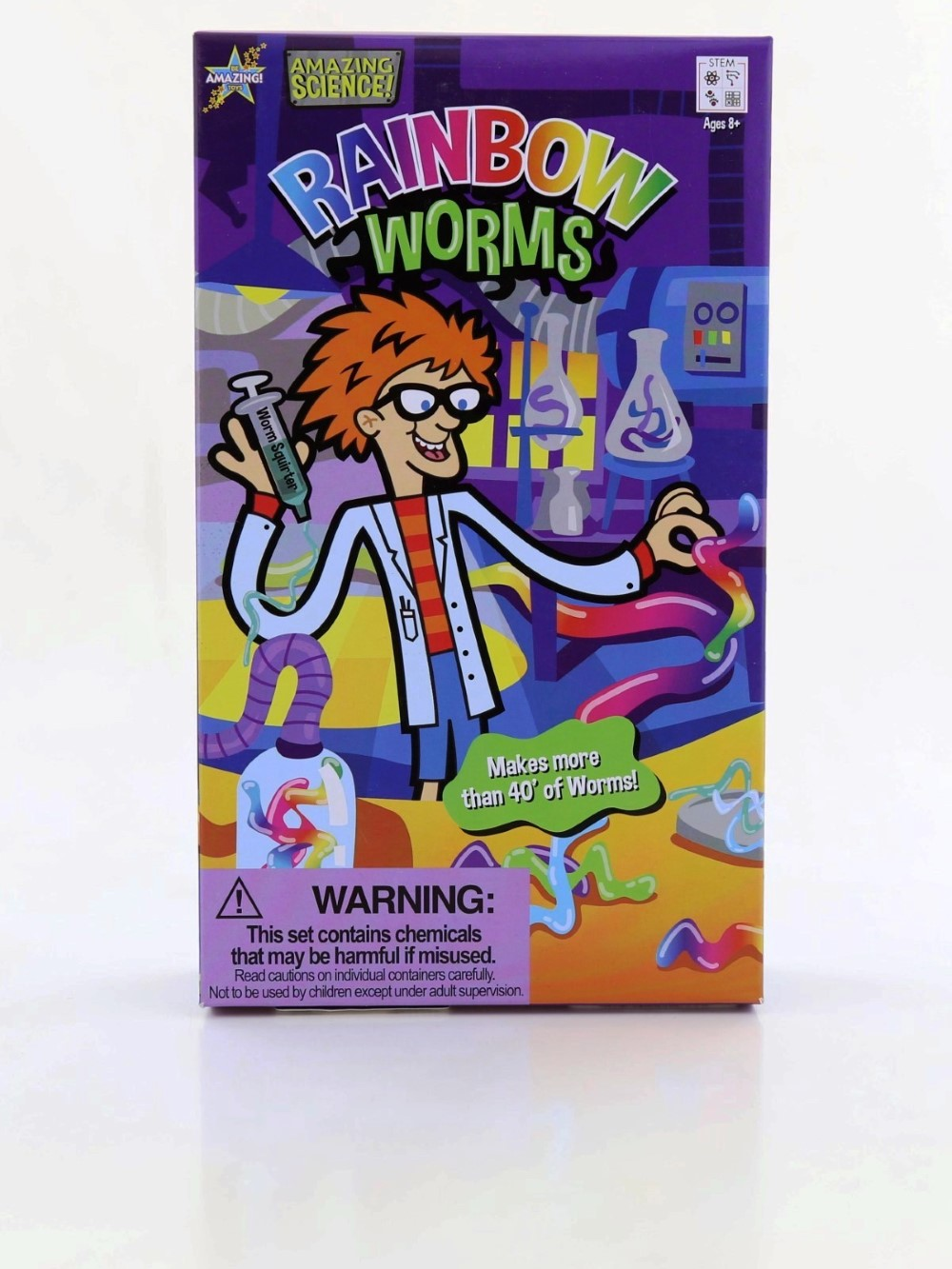Be Amazing Toys Rainbow Worms