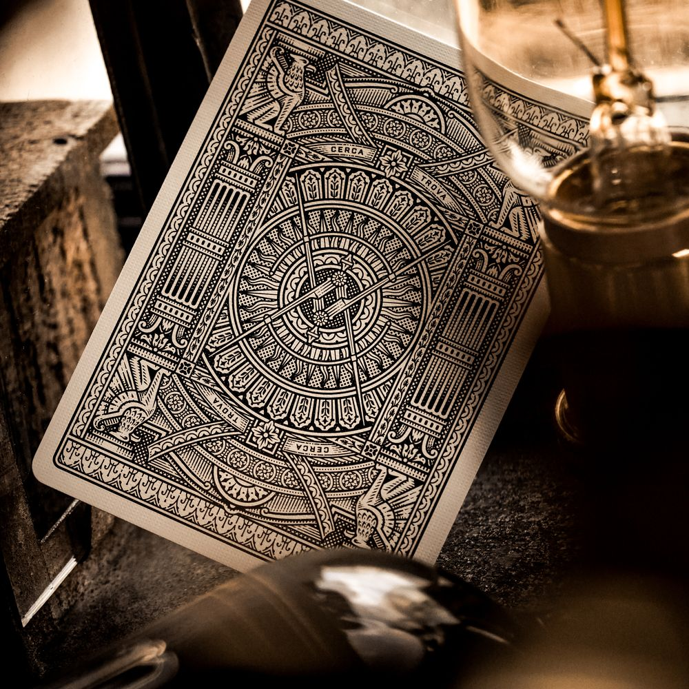 Theory11 Hudson Black Playing Cards