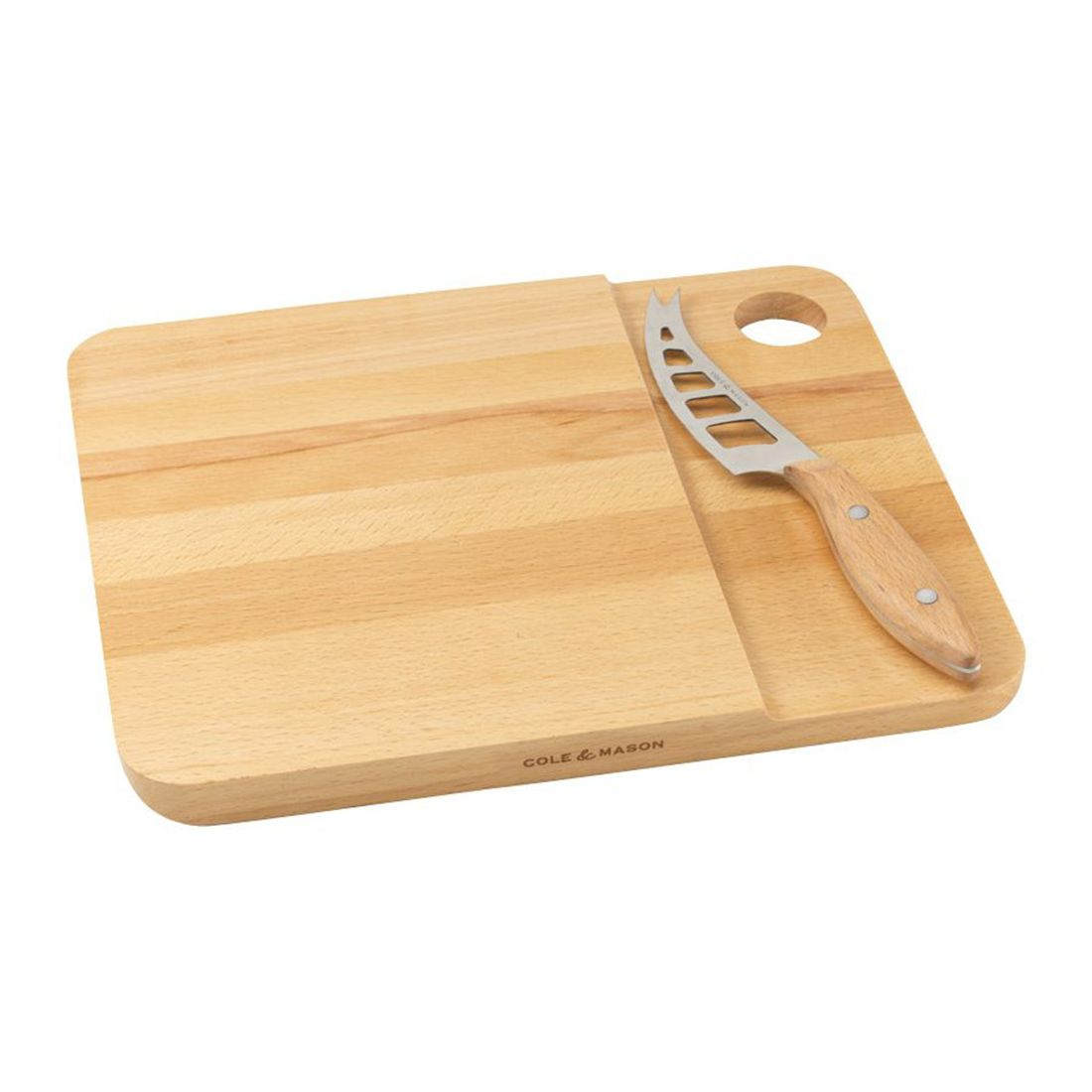 Cole & Mason Universal Cheese Knife & Board