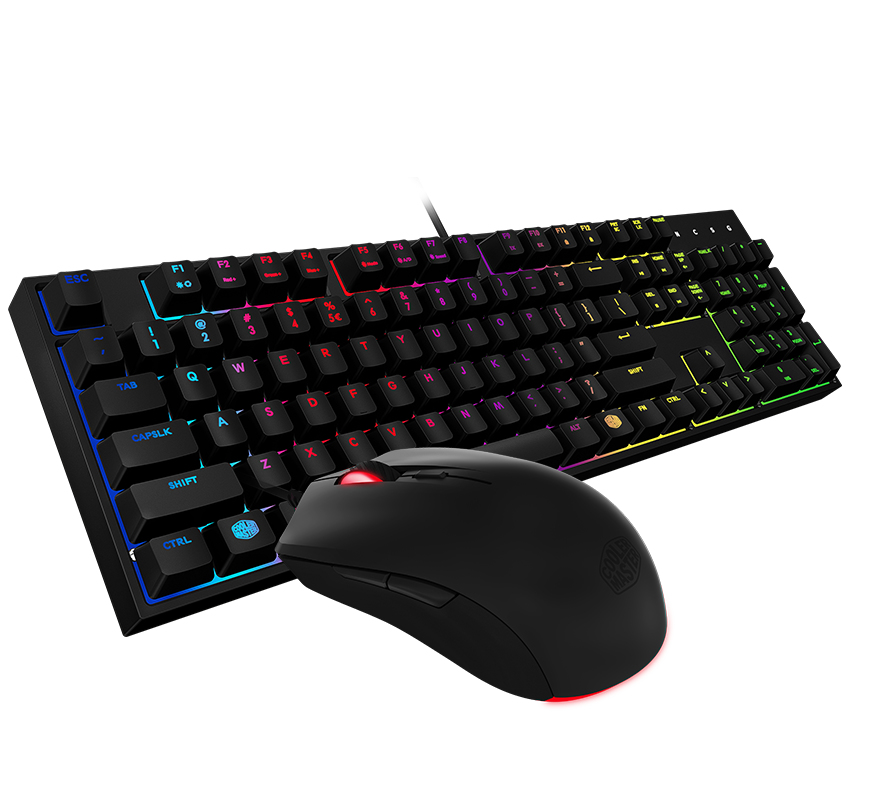 Cooler Master MasterKeys Lite L Gaming Mouse & Keyboard