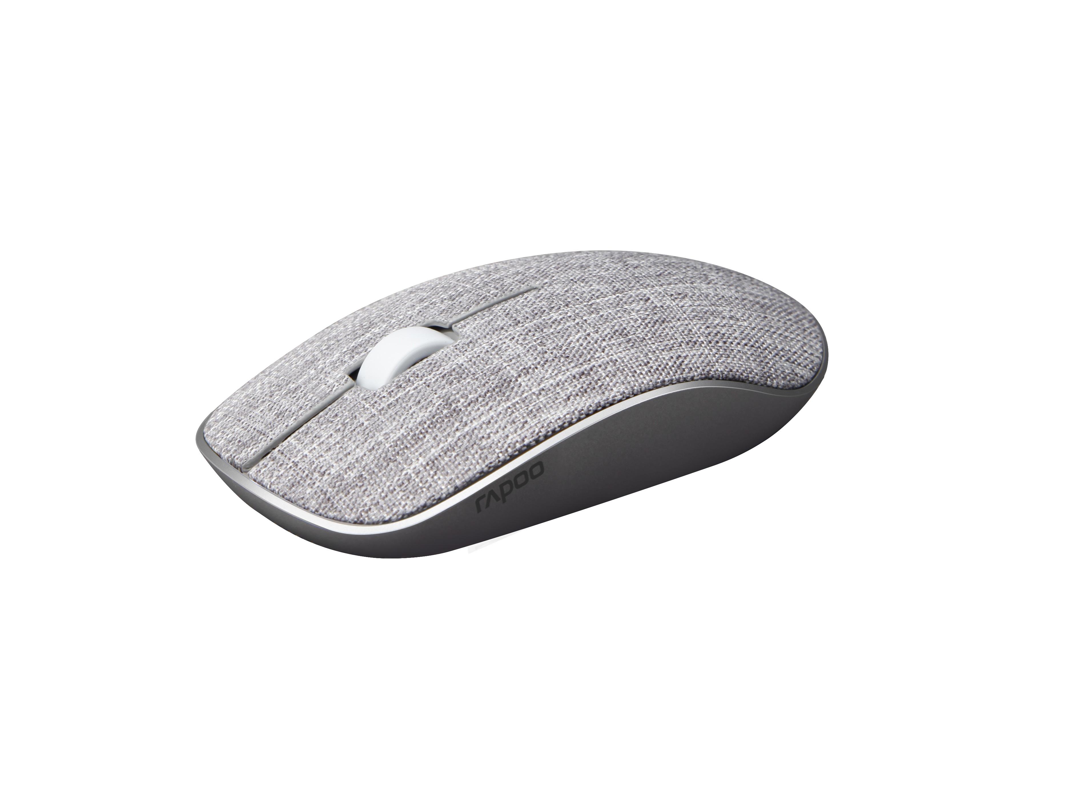 Rapoo Fabric 3510 Plus Grey Wireless Mouse