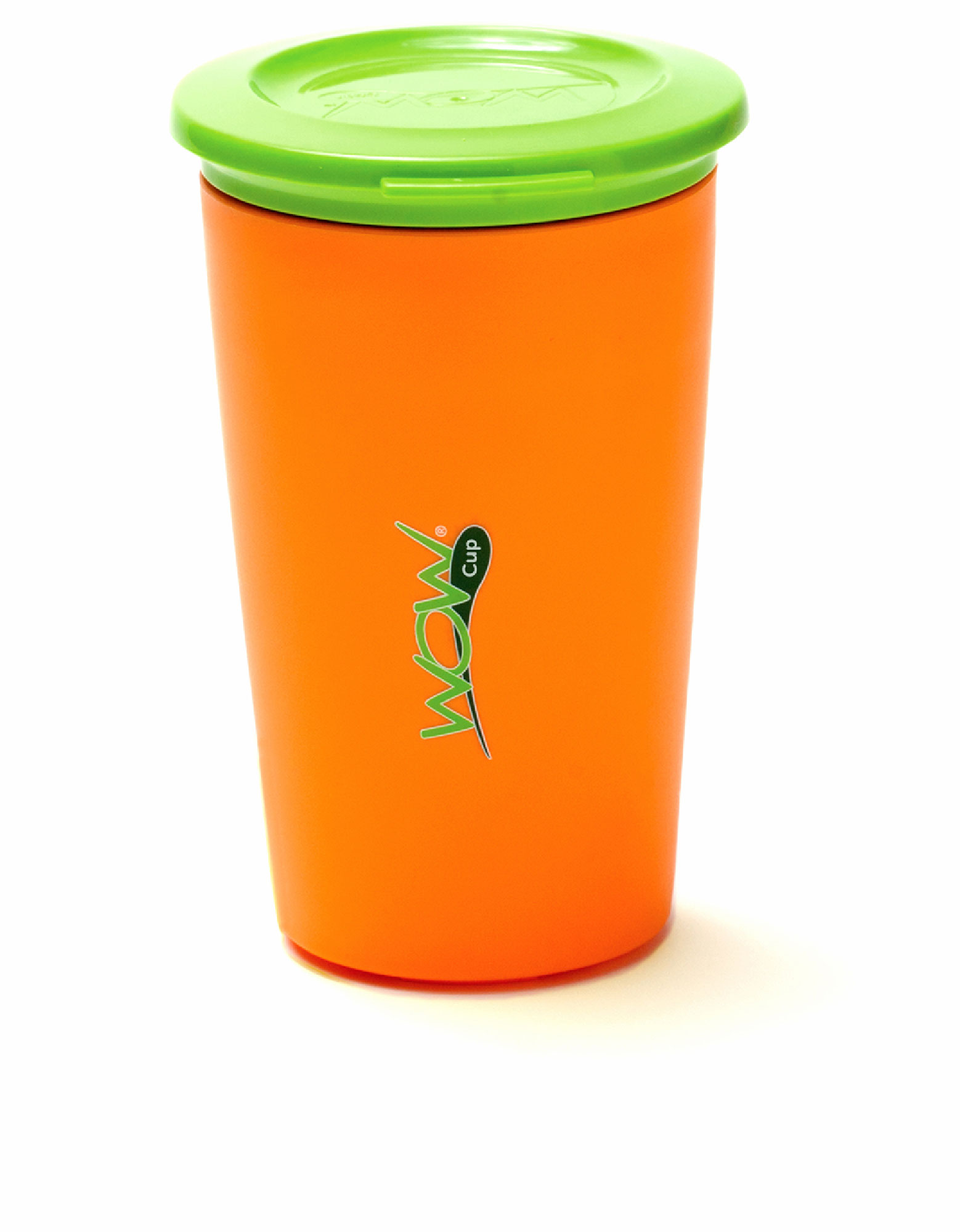 Wow Gear Wow Cup For Kids Orange Cup / Green Lid 266 ml