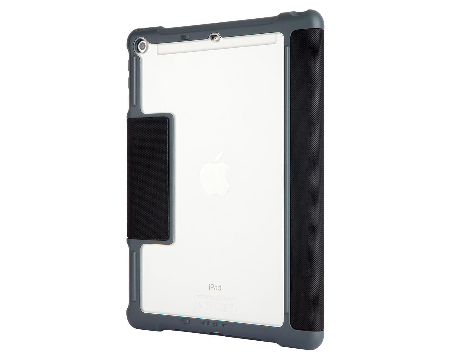 STM Dux Plus Rugged Case Black for iPad 9.7-Inch