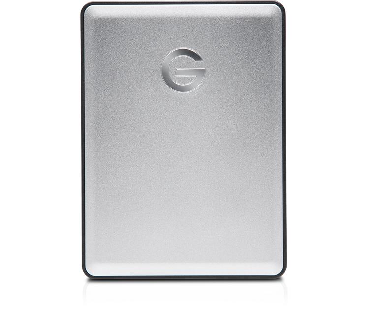 G-Technology G-DRIVE Mobile 1TB USB 3.0 Silver External Hard Disk