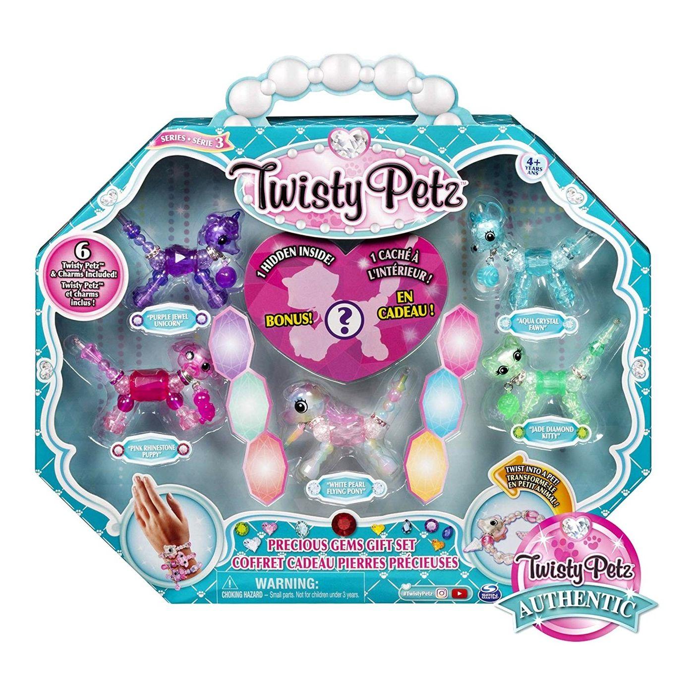 Twisty Pets Precious Gems Multipack