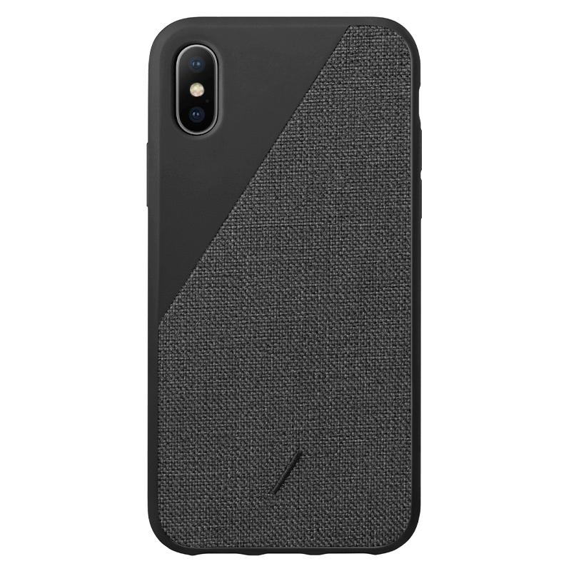 Native Union Clic Canvas Case Black for iPhone XS Max