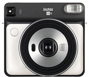Fujifilm Instax SQ 6 Pearl White Instant Camera