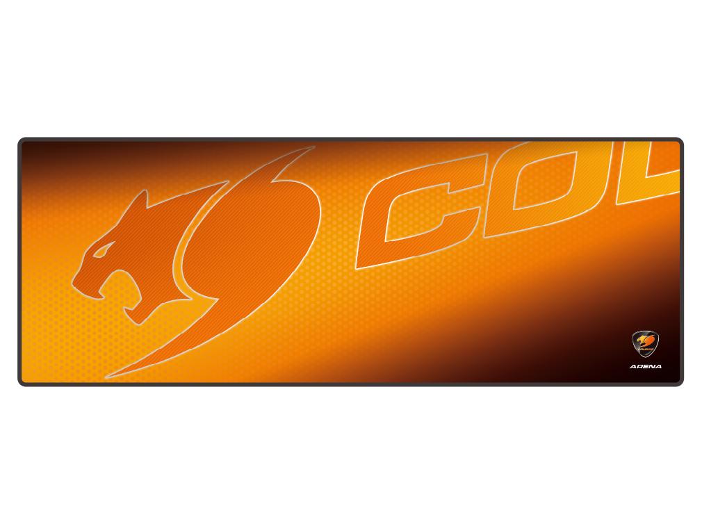 Cougar Arena Orange Gaming Mousepad XL