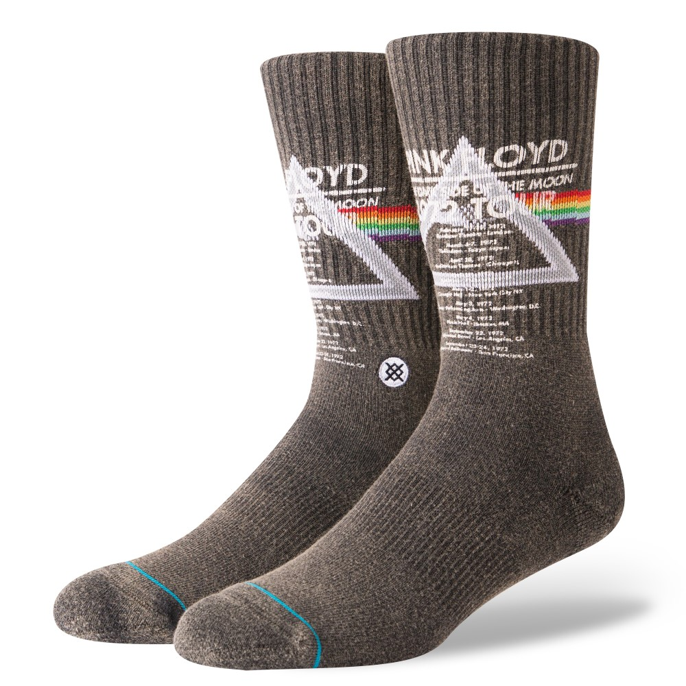 Stance Pink Floyd 1972 Tour Men'S Socks Black L