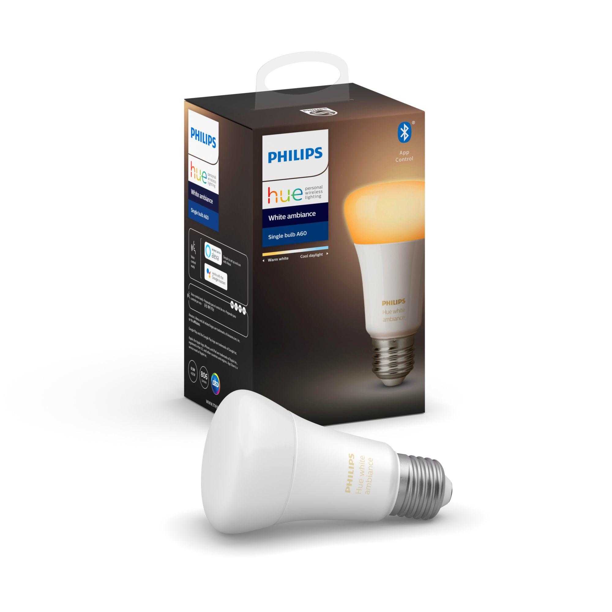 Philips Hue White Ambience 8.5W A60 E27