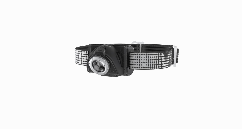 LED Lenser Seo7R Series Black Headlamp