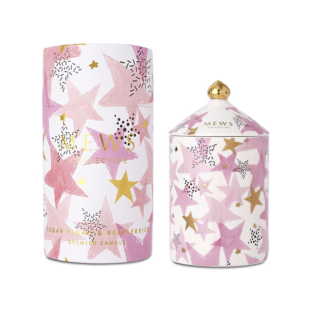 Mews Collective Sugar Plums & Red Berries Limited Edition Candle 320g