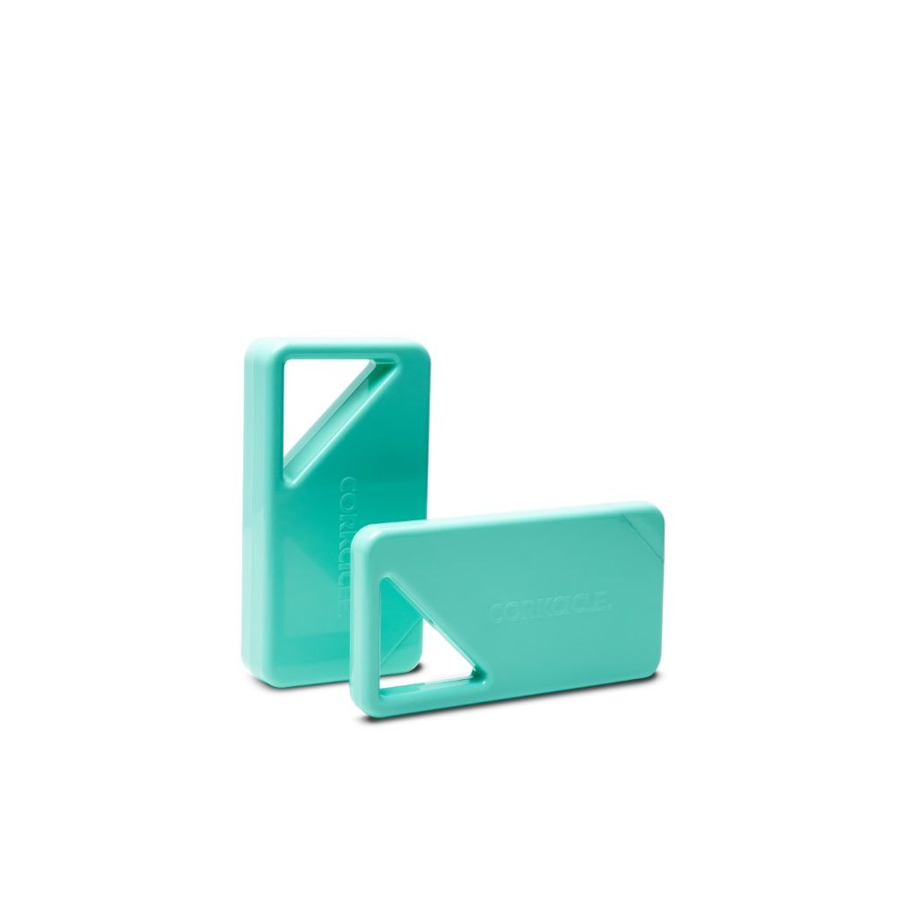 Corkcicle Ice Pack Cooler Turquoise