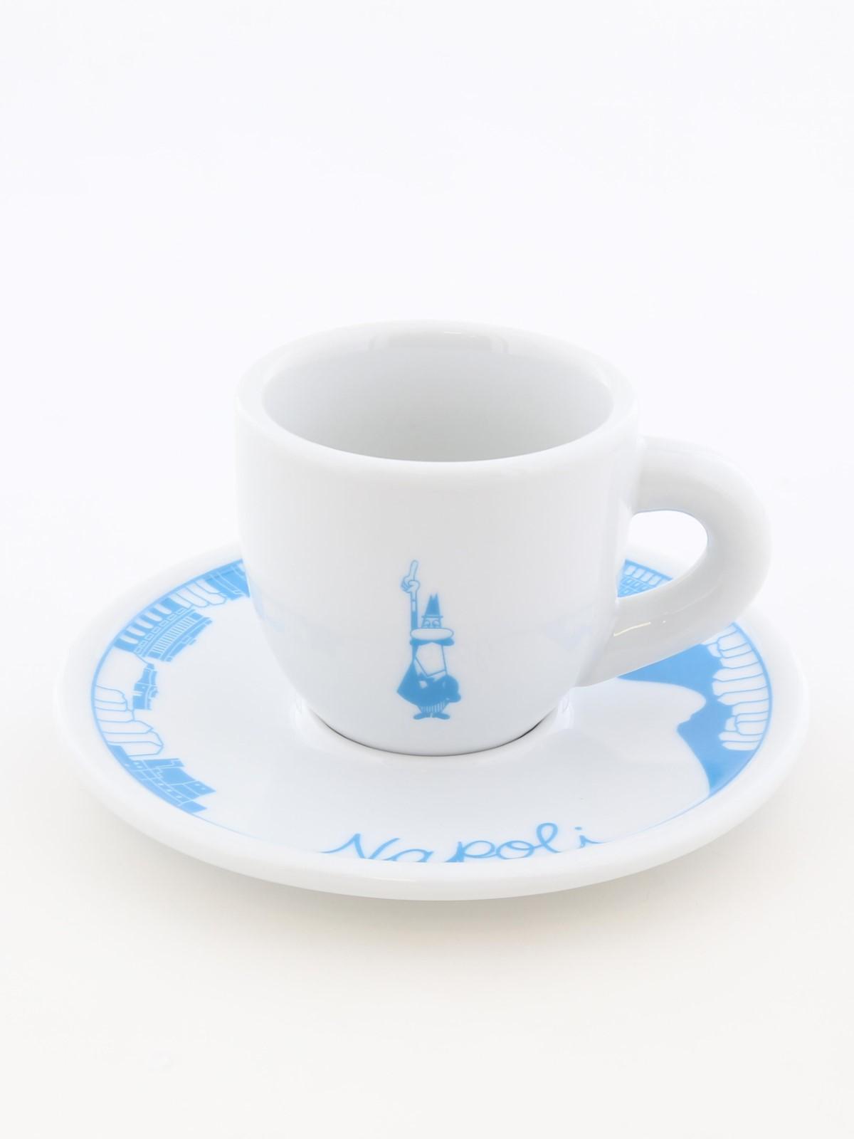Bialetti Espresso Cup & Saucer Napoli