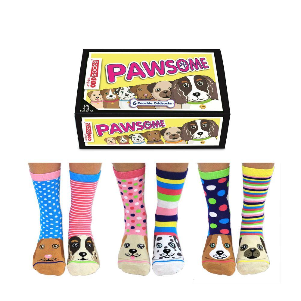 United Oddsocks Pawsome Women's Socks