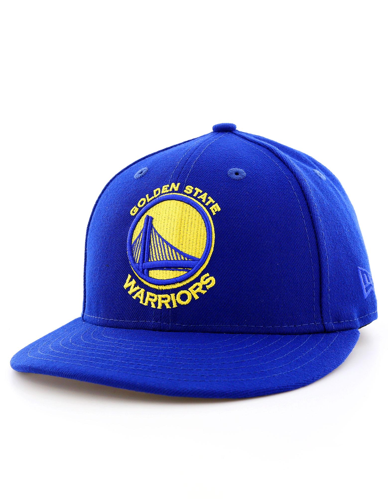 New Era Team Classic Lp Gs Warriors Blue Cap 7 1/4