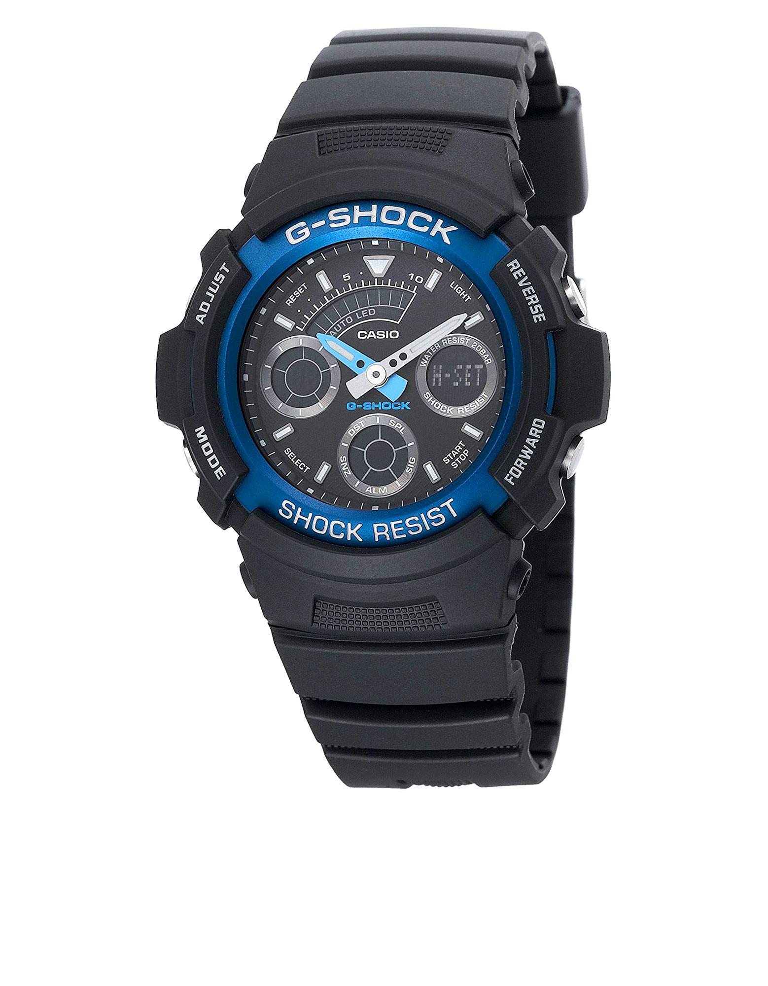 Casio AW-591-2A G-Shock Analog-Digital Watch