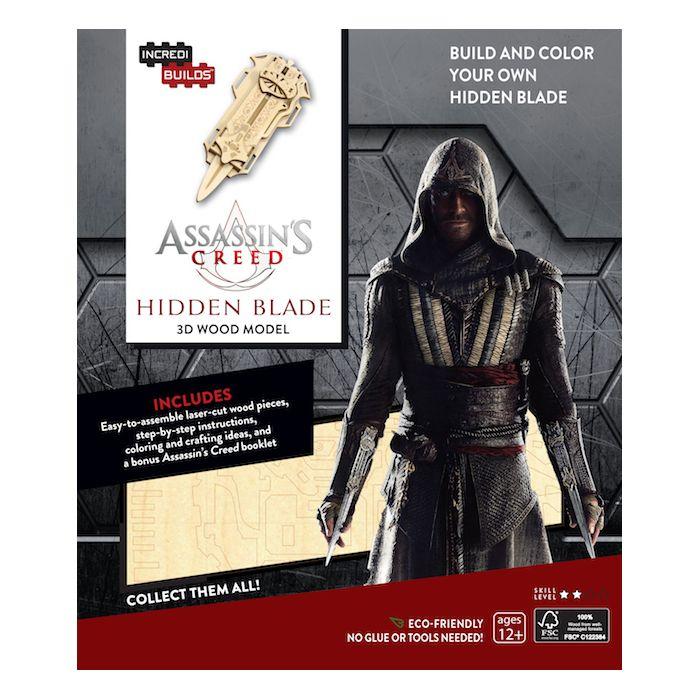Incredibuilds Assassin'S Creed 3D Wood Model
