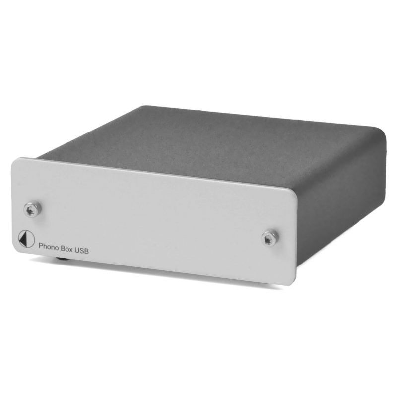 Pro-Ject Phono Box USB Silver MM/MC Phono Pre-Amp With Line & USB Outputs