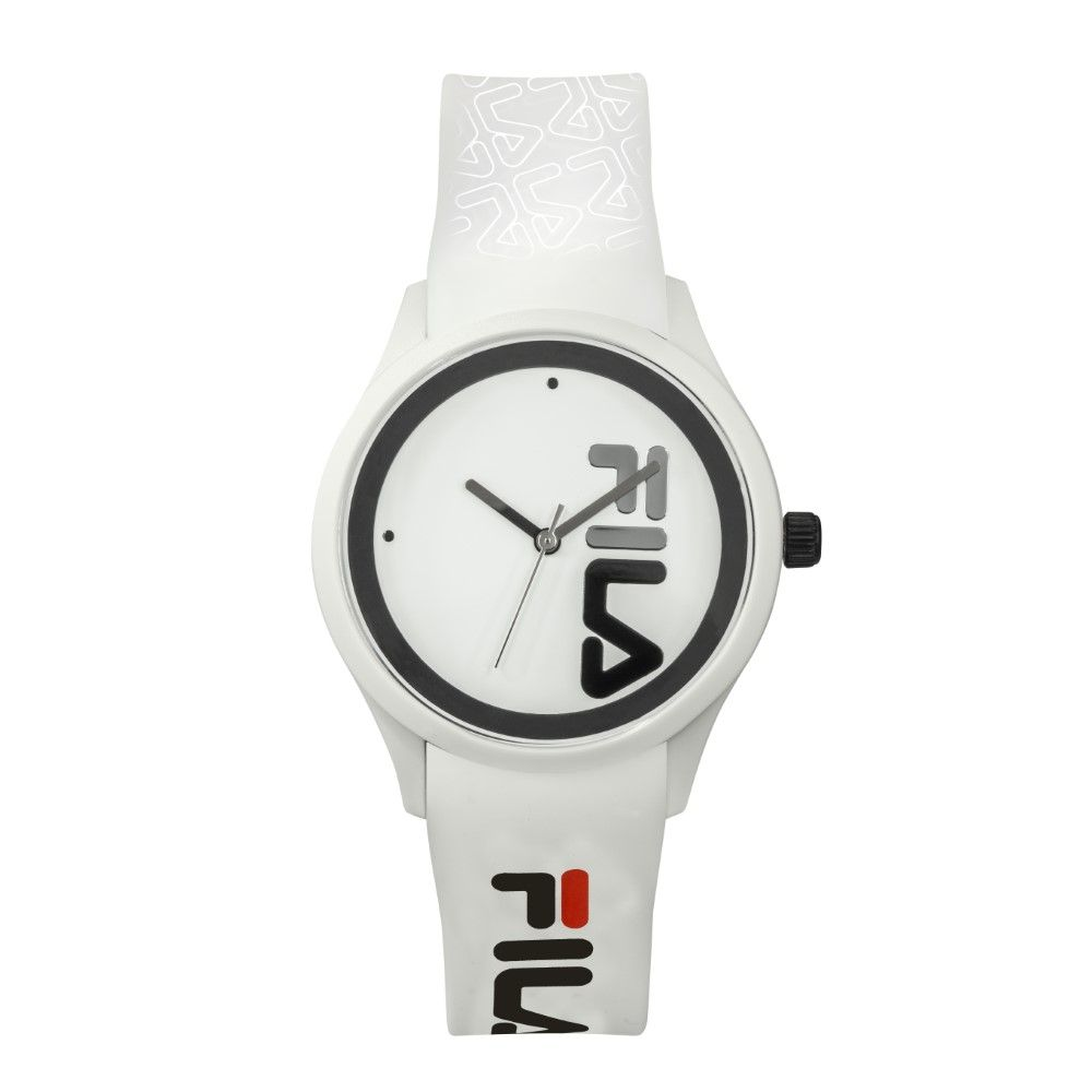 Fila Gents Watch With Silicon Strap White 40 mm (38-129-210)