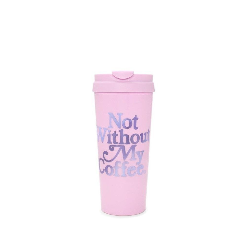 Ban.Do Hot Stuff Not Without My Coffee Lilac Travel Mug