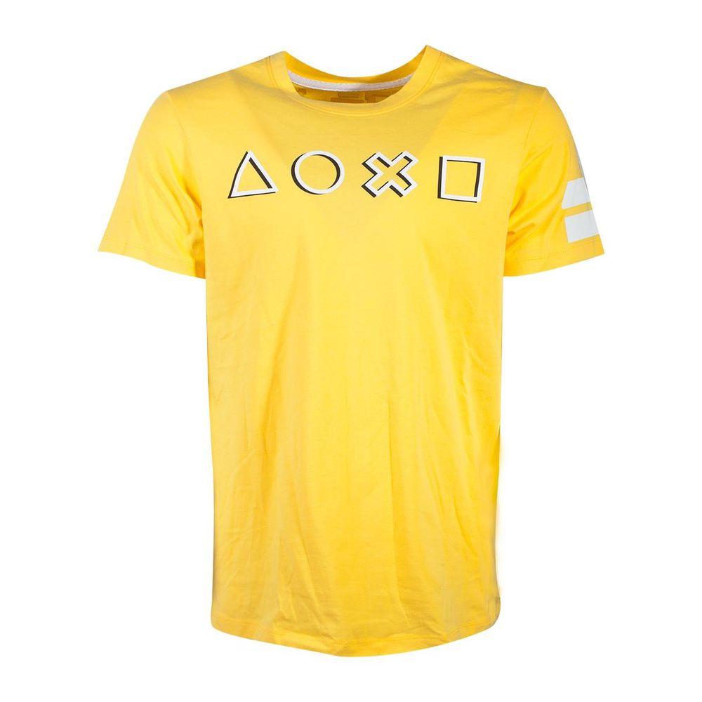 Playstation Icons Long Line Men'S T-Shirt L