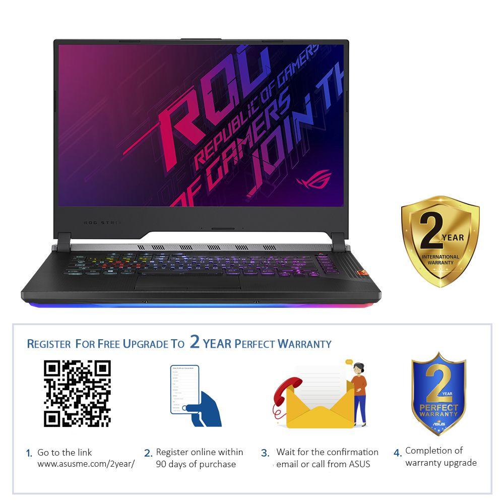 "ASUS ROG Strix Scar G731GW-H6280T i7-9750H/16GB/1TB SSD/NVIDIA GeForce RTX 2070 8GB /17.3"" FHD/240Hz/Windows 10/Gunmetal"