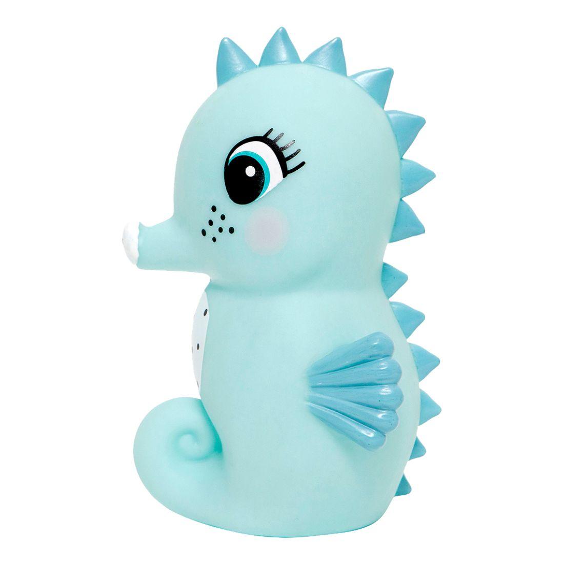 Petit Monkey Seahorse Light Blue