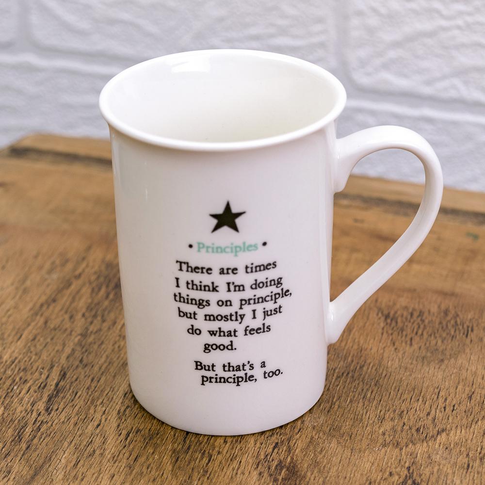 Soul Mostly True Principles Mug