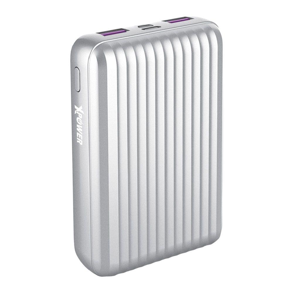 XPower Power Luggage 10G 10000mAh Silver Powerbank