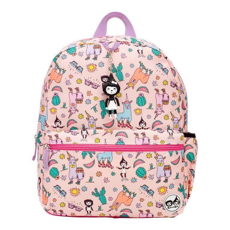 Zip & Zoe Llama Junior Kid's Backpack [4-9 Years]