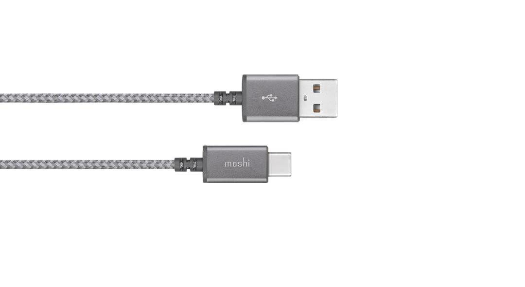 Moshi Integra USB-C to USB-A Cable 1.5m Titanium Grey