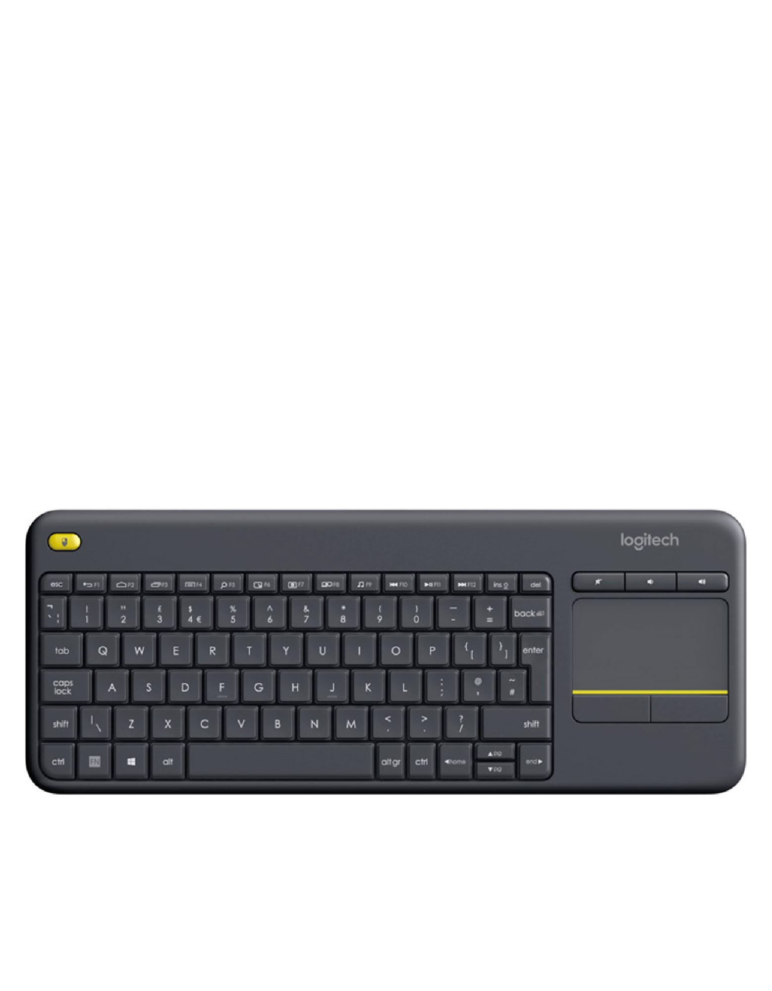 Logitech K400 Plus Black Wireless Touch Keyboard