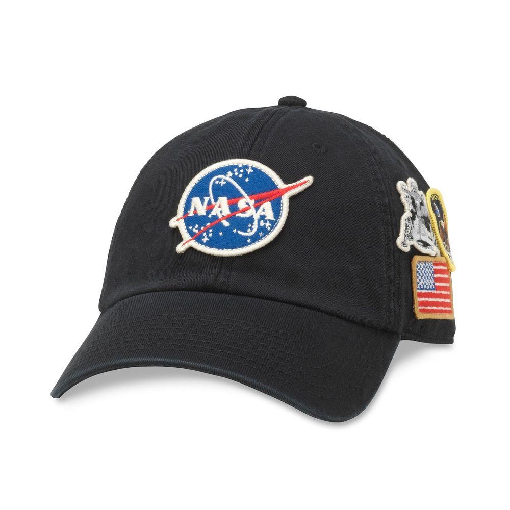 American Needle NASA Foley Cap Black