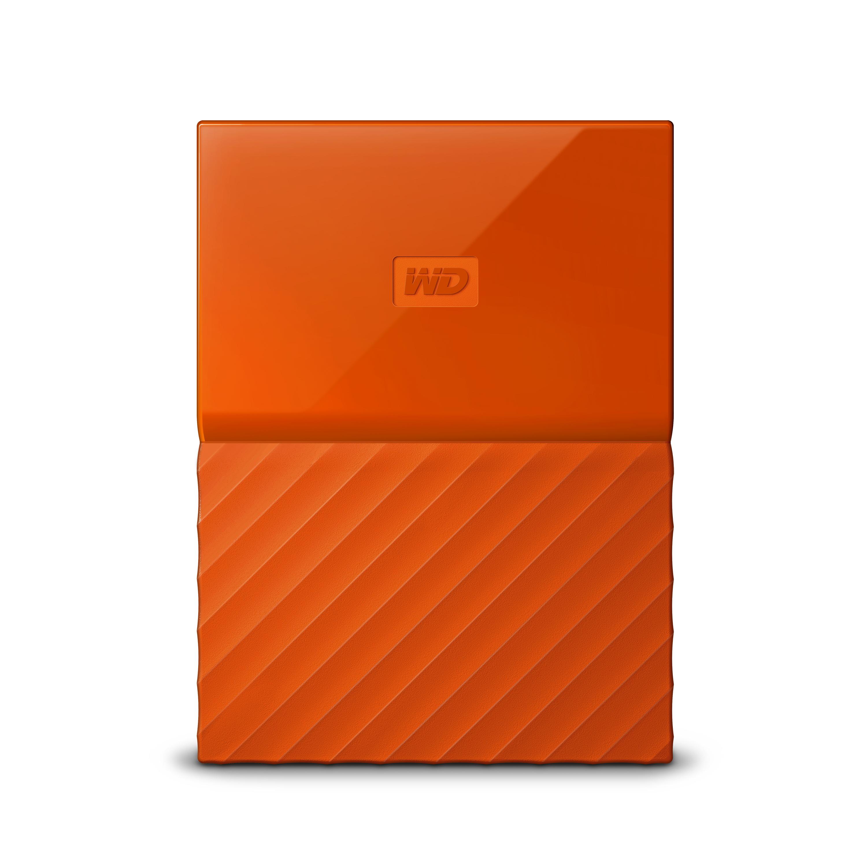 Western Digital My Passport 1TB Orange External Hard Drive