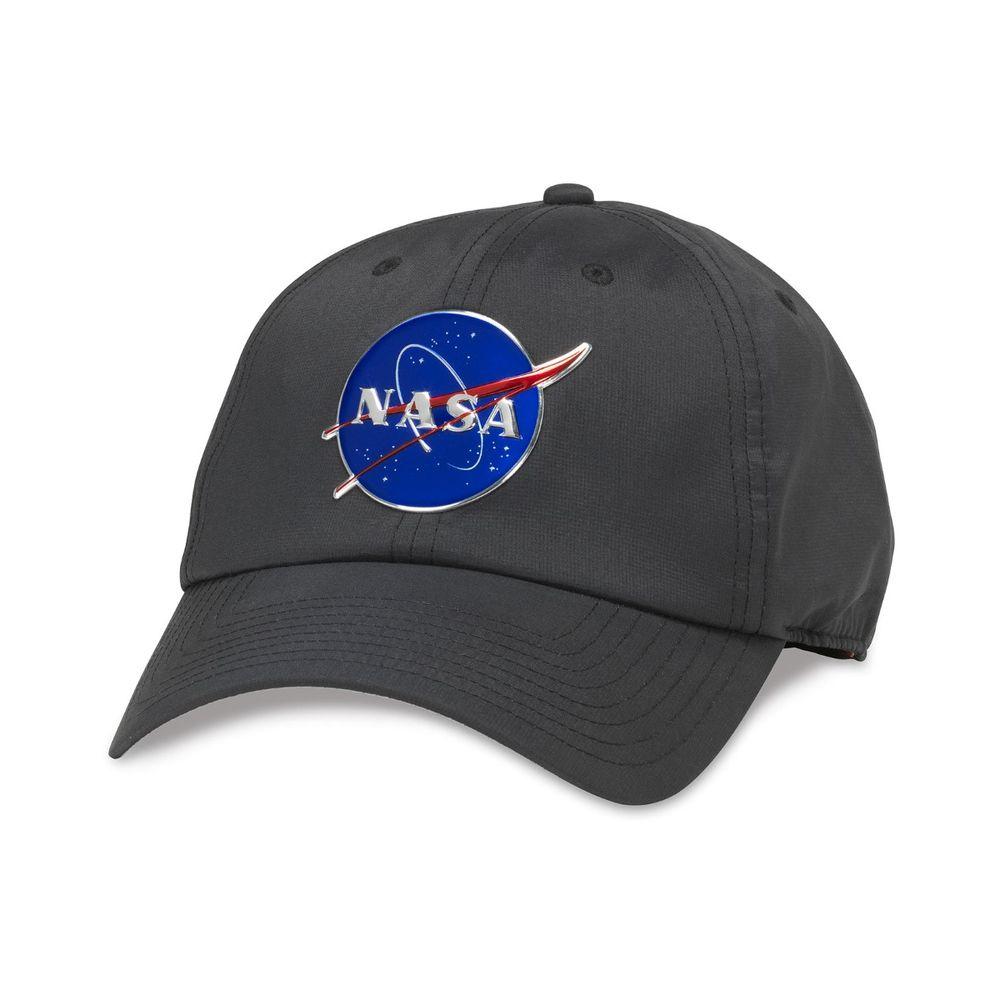 American Needle NASA Pace Cap Black