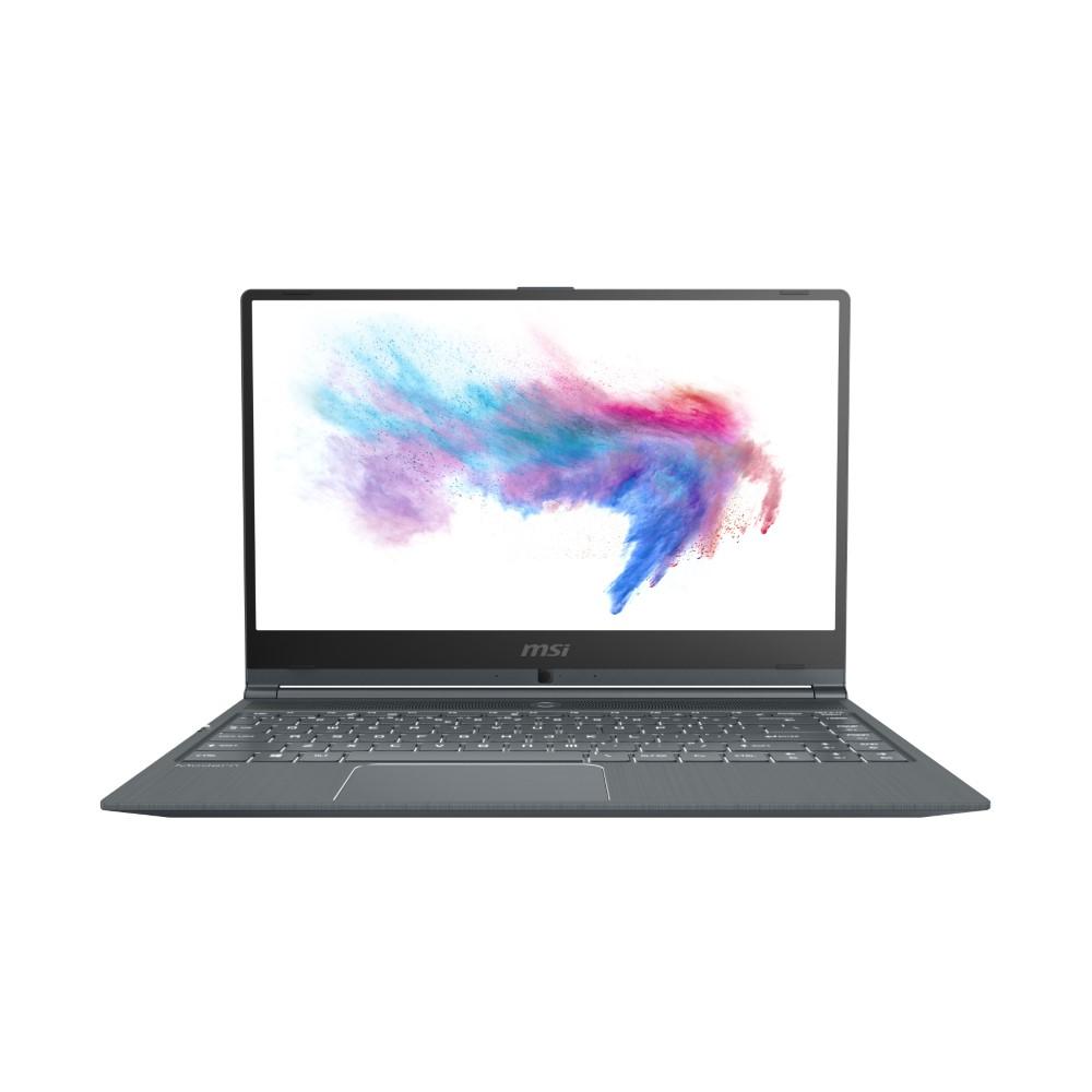 """MSI Modern 14 Notebook i7-10510U 1.8Ghz/16 GB/512 GB SSD/14"""" FHD/NVIDIA GeForce MX 250 2 GB/Windows 10/Dark Grey"""