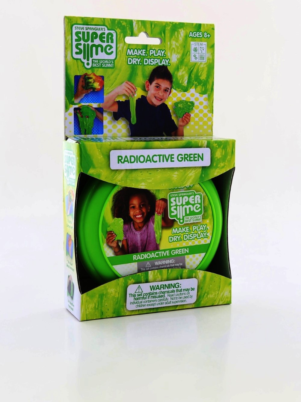 Be Amazing Toys Radioactive Green Super Slime Box
