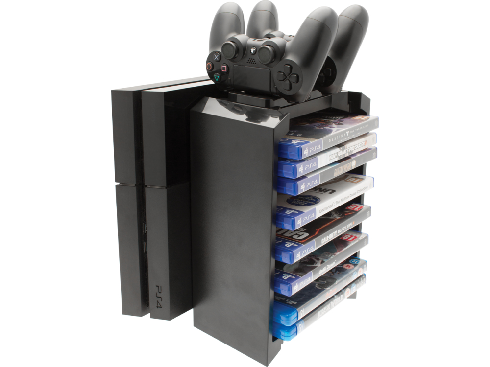 Venom Storage Tower & Twin Charger for PS4