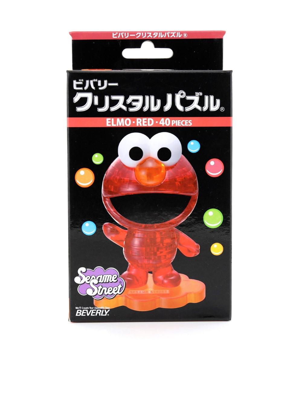Beverly Crystal Puzzle Elmo Red