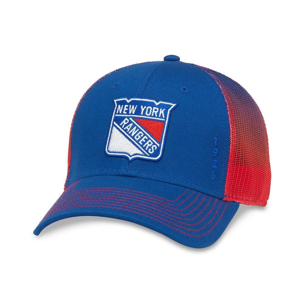 American Needle New York Rangers Crossfade Cap Royal/Red