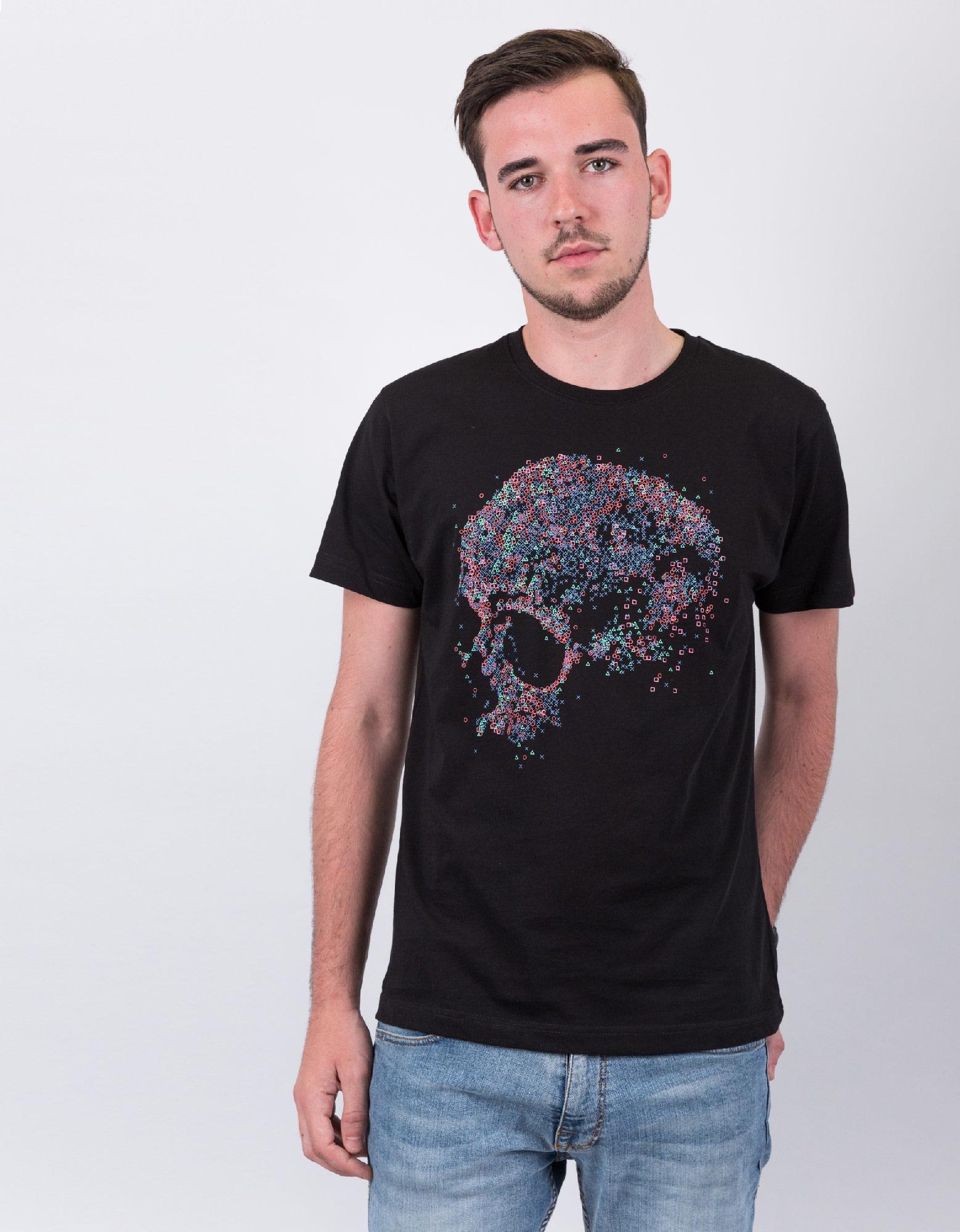 Jo-Bedu Playstation Black Men'S T-Shirt L