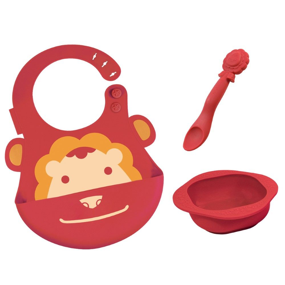 Marcus N Marcus Baby Feeding Set Marcus Red