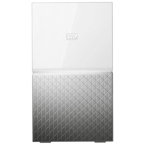 Western Digital MY CLOUD HOME Duo 6 TB 6TB Ethernet LAN Silver White Personal Cloud Storage Device