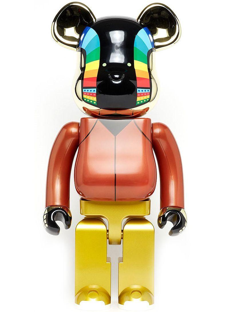 Bearbrick Daft Punk (Discovery Ver.) Guy-Manuel De Homem-Christo 1000 Percent Figure