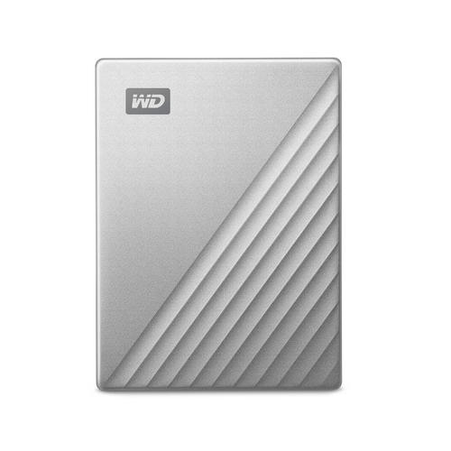 WD 2TB My Passport Ultra USB 3.0 Type-C External Hard Drive Silver