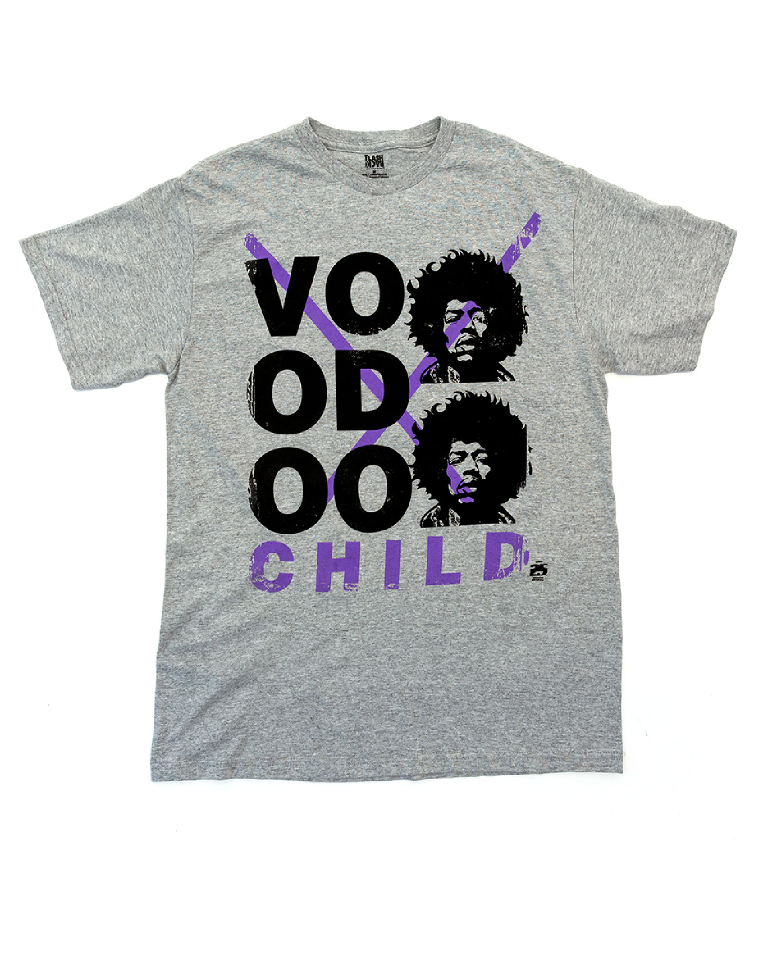 Jimi Hendrix Voodoo Child T-Shirt Heather Grey S