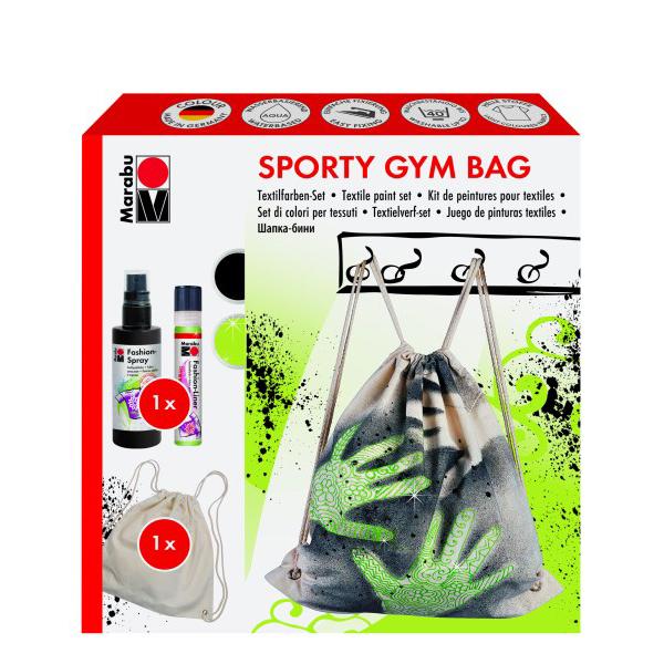 Marabu Creative-Set Sporty Gym Bag