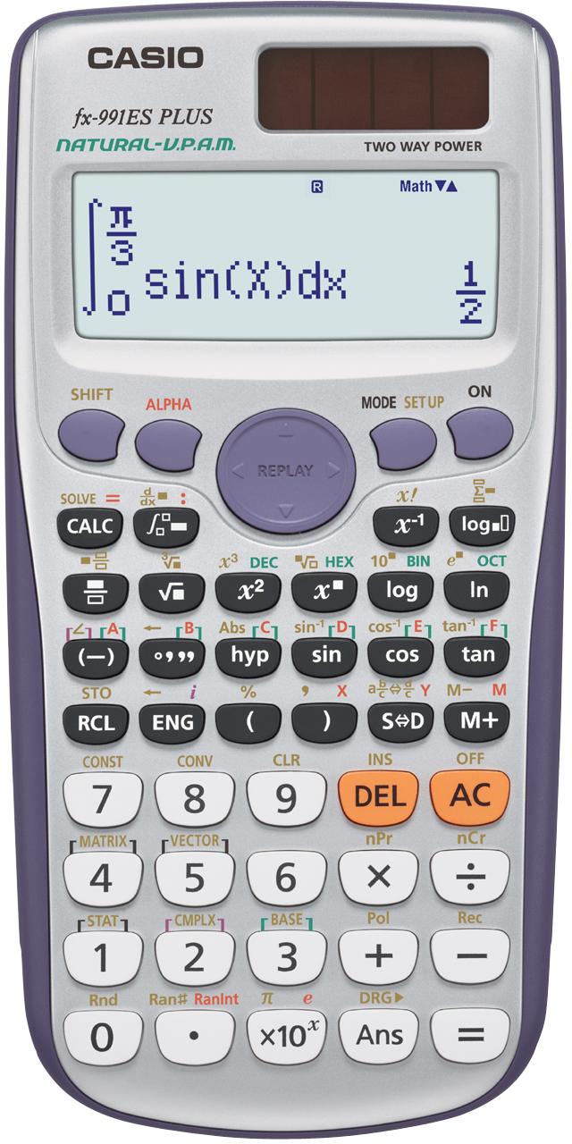 Casio FX-991ES Plus calculator Desktop Scientific Grey
